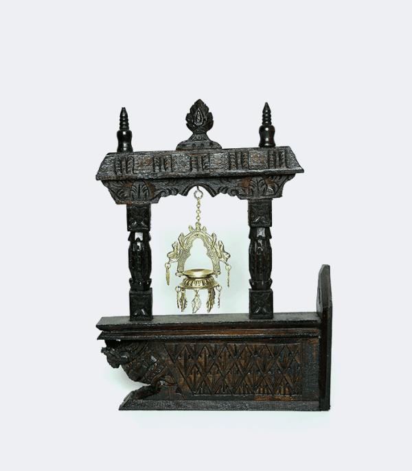 Wooden Wall Khadulu - Traditional Art of Nepal