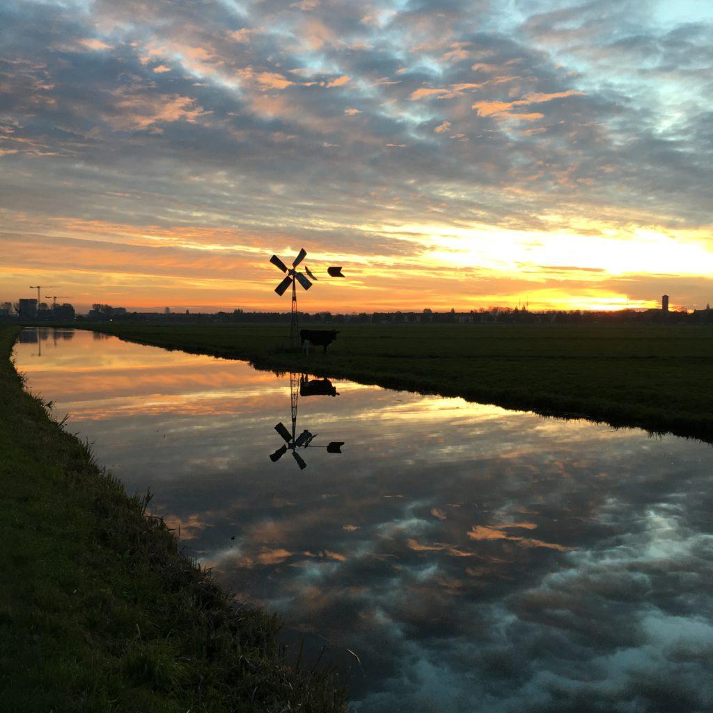 lucht reflectie