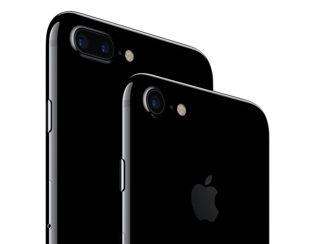 iPhone 7 en 7 plus smartphone camera