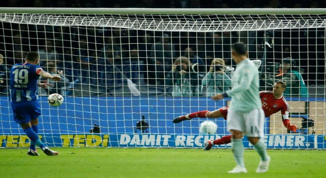 Coupe d'Allemagne: le Bayern  bat Francfort 2-1 et va en finale