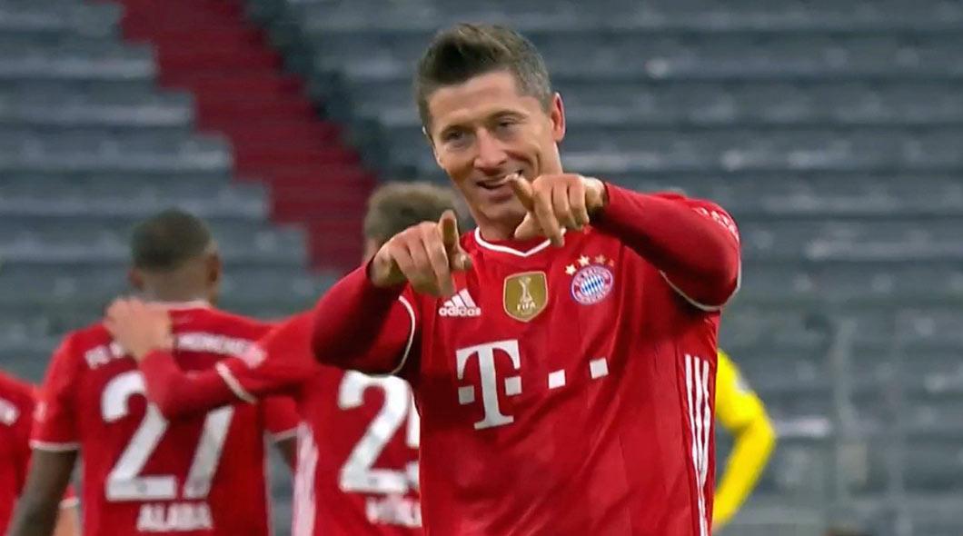 Bundesliga : Bayern Munich – Dortmund (4-2),  Les Bavarois ne lâchent rien