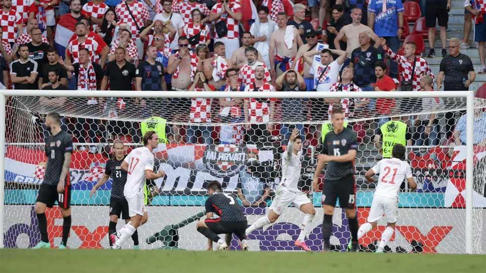 Espagne Croatie