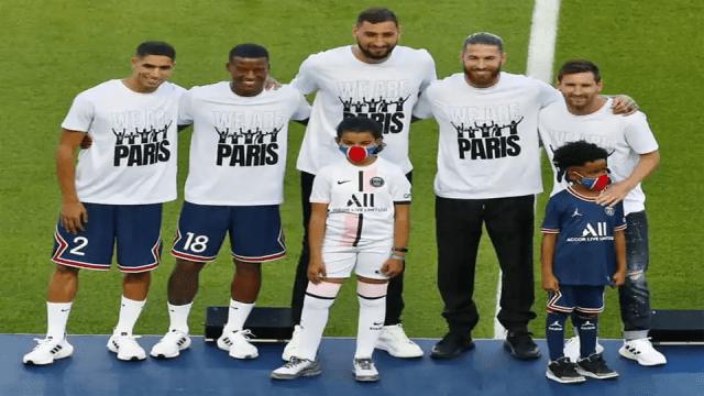 PSG : La présentation de Lionel Messi au public du parc des princes
