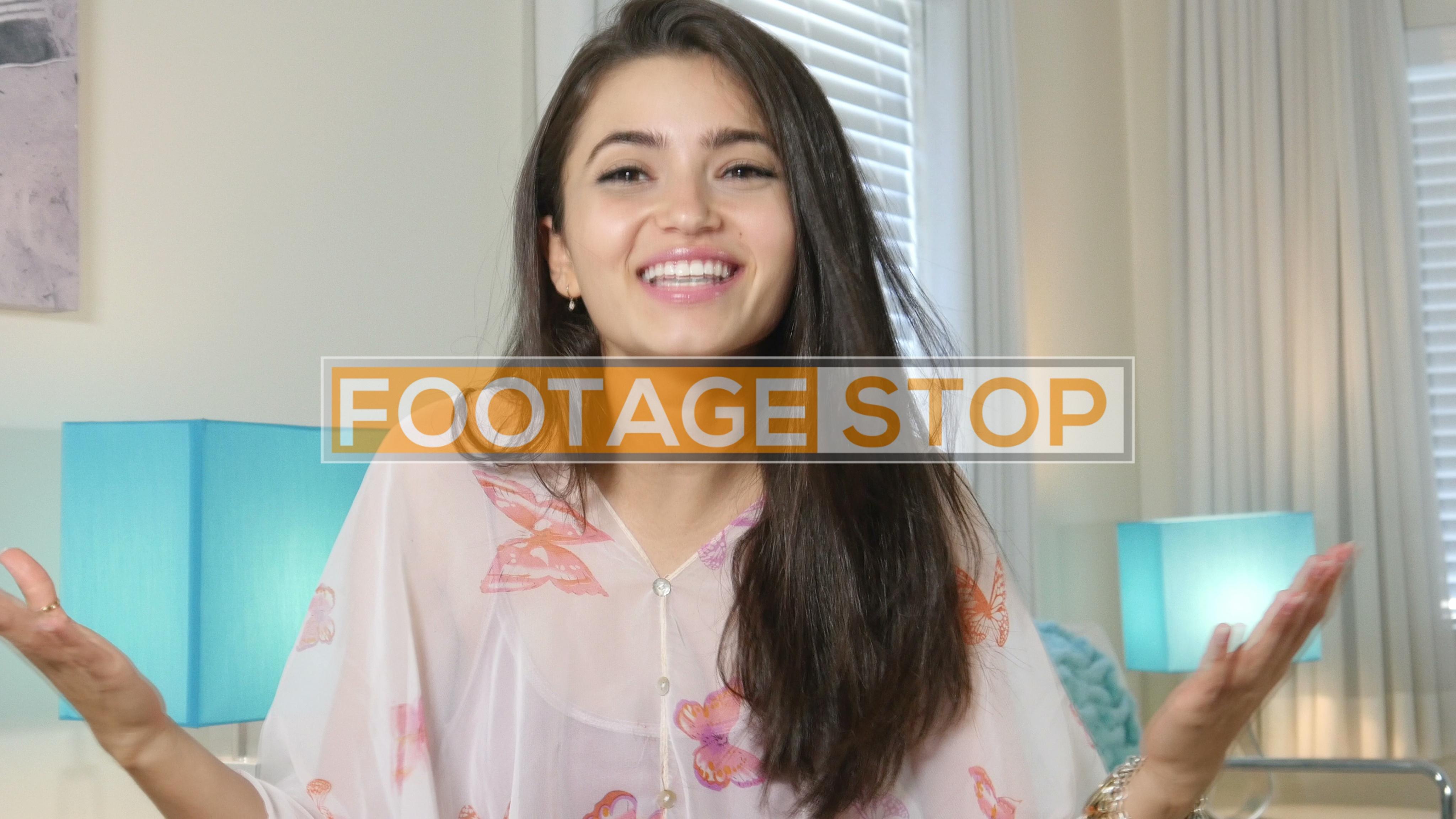 millennial-girl-stock-video-footage
