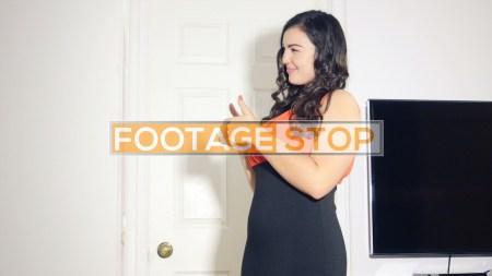 plus-size-woman-stock-video