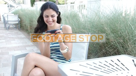 ethnic-lifestyle-woman-vacation-stock-video-footage