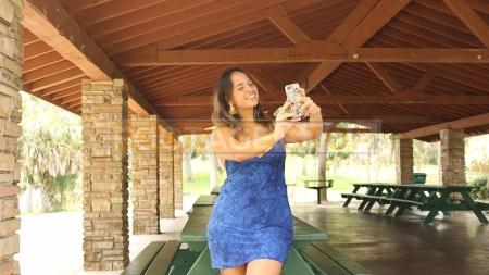 hispanic-girl-zoom-skype-web-call-stock-video-footage