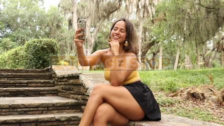 technology-social-media-girl-latina-hispanic-stock-video-footage