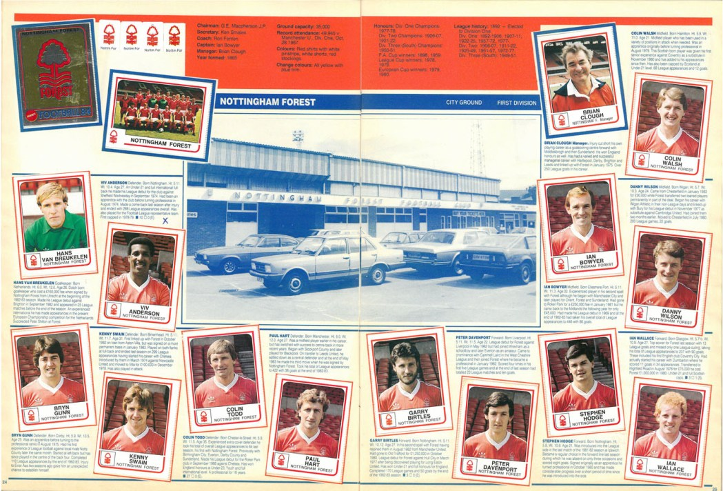 Nottingham Forest 1984