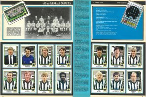 Newcastle United 1986