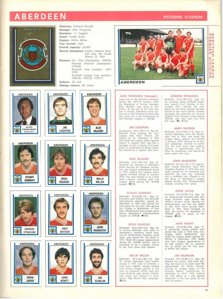 Aberdeen 1981