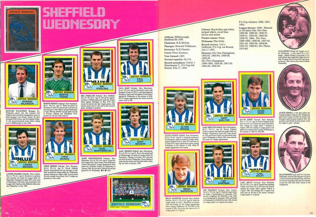 Sheffield Wednesday 1987