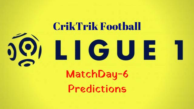 ligue 1 matchday 6 predictions