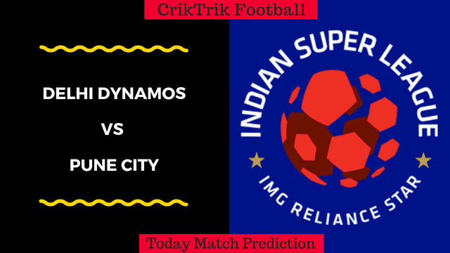 delhi dynamos vs pune city match prediction