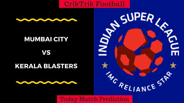 mumbai vs kerala isl match prediction