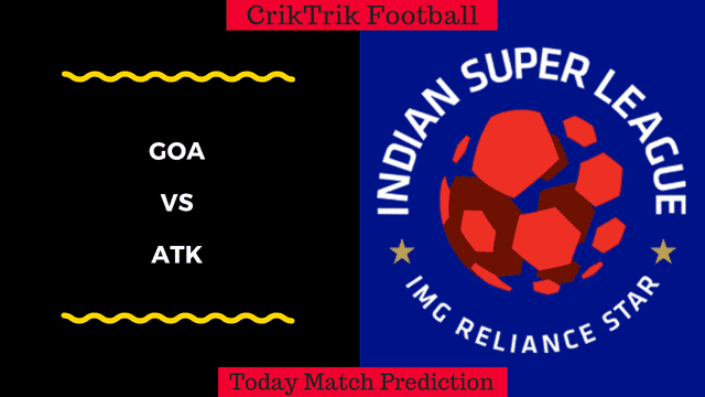 GOA vs ATK today match prediction