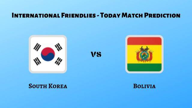 South Korea vs Bolivia