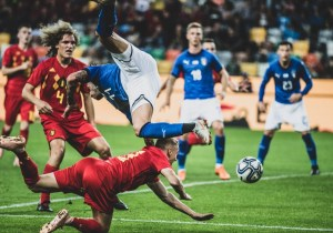 Belgium won against Italy U21