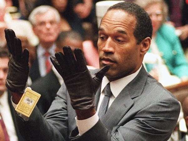 Crimes by NFL players OJ Simpson