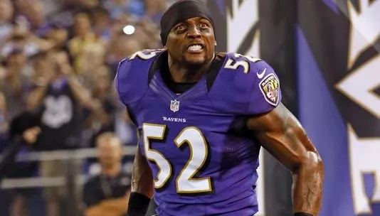 Crimes by NFL players Ray Lewis