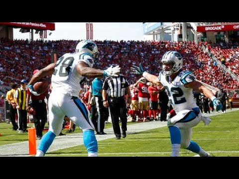 Start Carolina Panthers running backs