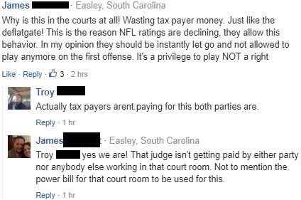 Crazy Commenters