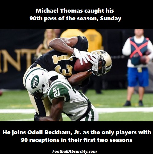 Thomas facts about week 15