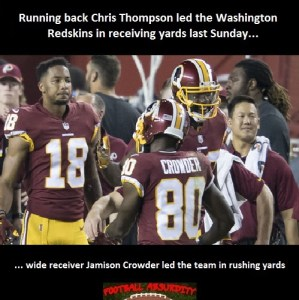 Fact about Washington Rushing