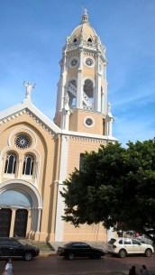 A church in Casco Viejo