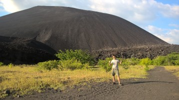 Cerro Negro, at 100 years old, a young volcano