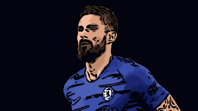 Olivier Giroud Chelsea Tactical Analysis Statistics