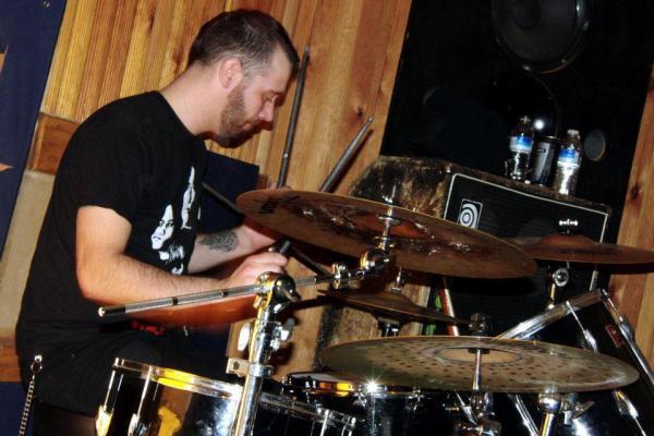 Space drummer Allan Jones