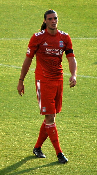 Liverpool forward Andy Carroll cost £35m.