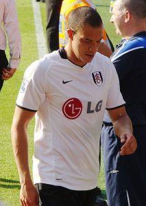 Bobby Zamora scored Fulham's winner against Arsenal