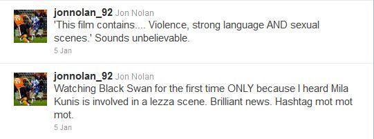 Jon Nolan Black Swan