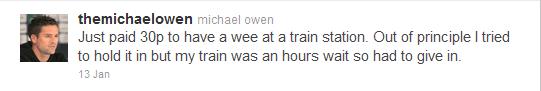 Michael Owen wee
