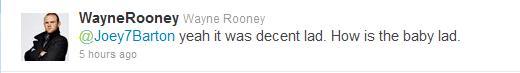 Wayne Rooney and Joey Barton