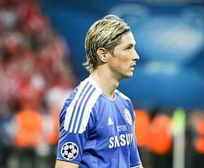 Chelsea and Spain striker Fernando Torres