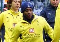 Danny Rose playing for Tottenham Hotspur