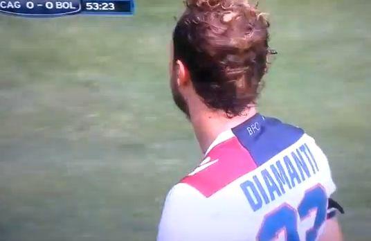 Alessandro Diamanti, who took a terrible corner for Bologna