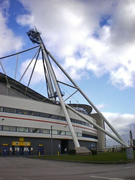 The Reebok Stadium, home of Bolton Wanderers