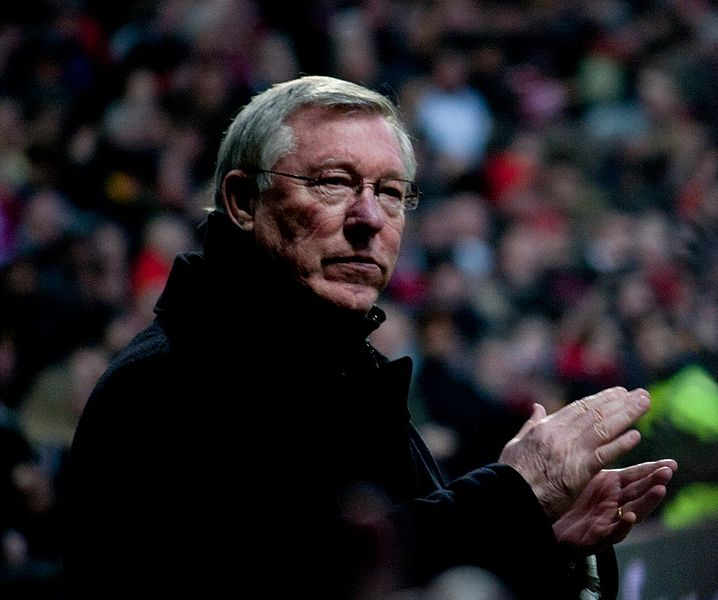 Red Devils manager Sir Alex Ferguson