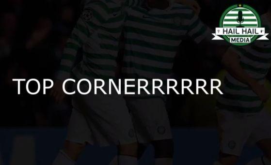 A screaming Celtic commentates on Celtic 2 Barcelona 1