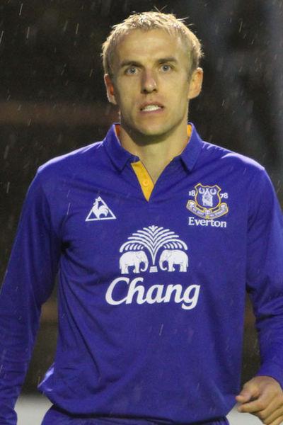 Everton captain Phil Neville