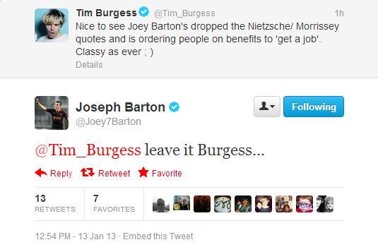 Joey-Barton v Tim-Burgess