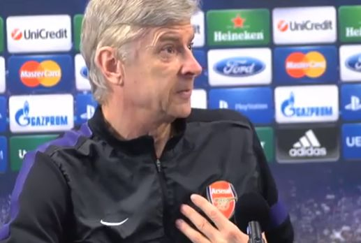 Arsène Wenger's press conference fury