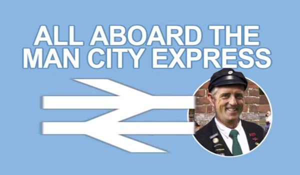 Manchester City tram announcements, featuring Mancini, Kompany, Hart and Milner