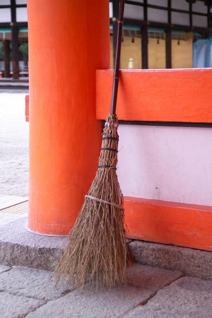 A broomstick