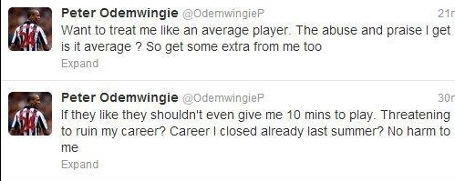 Odemwingie Twitter