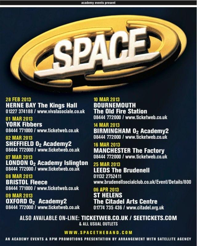 Space tour 2013